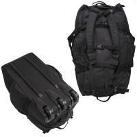 Sturm - Black Combat Duffle Bag With Wheel