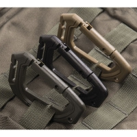 Sturm - Black Tactical Karabiner Molle (2 pcs./blister)