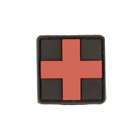 Sturm - Black PVC 3D First Aid Patch W.Hook&Loop Clos.Sm