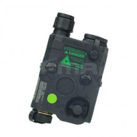 FMA - AN-PEQ-15 Upgrade Version LED White light + Green laser with IR Lenses - Black