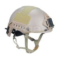 FMA - Ballistic Helmet with 1:1 protecting pat - Dark Earth