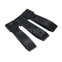 FMA - 3'' Strap Buckle Accessory (3pcs For A Set) - Black