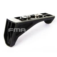 FMA - Angled Fore Grip Keymod Grip - Black