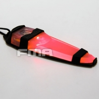 FMA - Tactical Safty Light In Red - Black