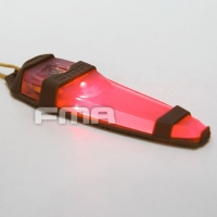 FMA - Tactical Safty Light In Red - Dark Earth
