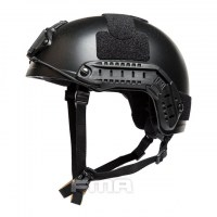 FMA - Ballistic aramid Thick and Heavy version Helmet - Black