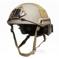 FMA - Ballistic aramid Thick and Heavy version Helmet - Dark Earth