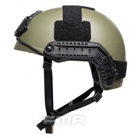 FMA - Ballistic aramid Thick and Heavy version Helmet - Ranger Green