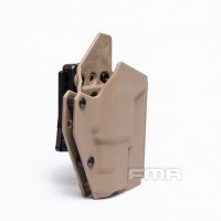 FMA - G17S WITH SF Light-Bearing Holster - Dark Earth