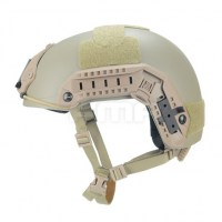 FMA - Maritime 1:1 Aramid Fiber Version Helmet - Dark Earth