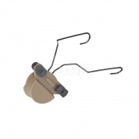FMA - EX Headset And Helmet Rail Adapter Set GEN2 - Dark Earth