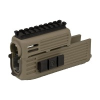 Tapco - Intrafuse Ak Handguard Quad Rail - Dark Earth