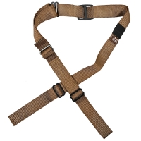 Tab Gear - CAD Rifle Sling Without Buckles-No Swivels - Coyote Brown
