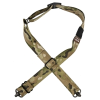 Tab Gear - CAD Rifle Sling Without Buckles-QD Push Button - Multicam