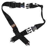 Tab Gear - CAD Rifle Sling With Fastex Buckles-QD Push Button - Black