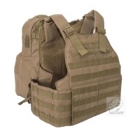 Voodoo Tactical - Hayden Plate Carrier with Assault Pack - Coyote