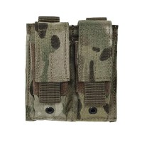 Voodoo Tactical - Pistol Mag Pouch Double - Multicam