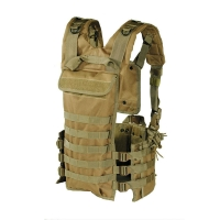 Voodoo Tactical - MOLLE Chest Rig - OD Green