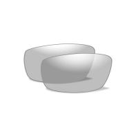 Wiley X - VALOR Glasses - Smoke Grey/Clear Matte Black Frame