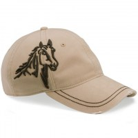 DRI DUCK - 3-D Horse Cap - Light Wheat
