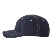 Flexfit - Contrast Color Stitched Cap - Navy/ Stone