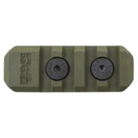 FAB-Defense - Полимерная планка Пикатинни на M-LOK цевья Vanguard, 4 слота - Зелёный