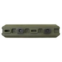 FAB-Defense - Полимерная планка Пикатинни на M-LOK цевья Vanguard, 7 слотов - Зелёный