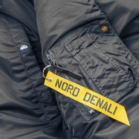 Nord Denali - HUSKY SHORT 2019 - Rep.Black/Orange