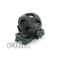 FMA - Single Clamp for 0.83' Flashlight - Black