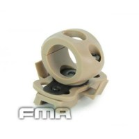 FMA - Single Clamp for 0.83' Flashlight - Dark Earth