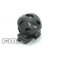 FMA - Single Clamp for 1' Flashlight - Black