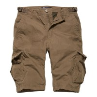Vintage Industries - Terrance shorts - Dark Khaki