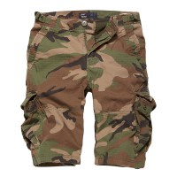 Vintage Industries - Terrance shorts - Woodland