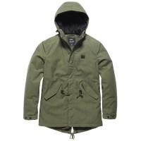 Vintage Industries - Wallbrook parka - Olive Drab