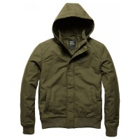 Vintage Industries - Hudson jacket - Dark Olive
