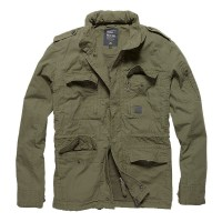 Vintage Industries - Cranford jacket - Olive Sage