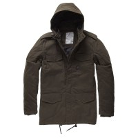 Vintage Industries - Darren parka - Oak