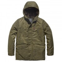 Vintage Industries - Mitchel parka - Olive Drab