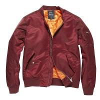 Vintage Industries - Welder jacket - Burgundy
