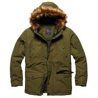 Vintage Industries - Circle parka - Olive