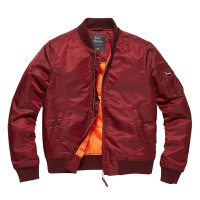 Vintage Industries - Liv ladies jacket - Burgundy