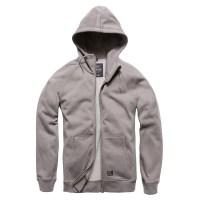 Vintage Industries - Basing hooded sweatshirt - Charcoal