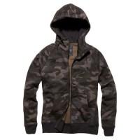 Vintage Industries - Basing hooded sweatshirt - Dark Camo