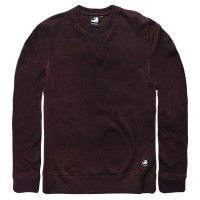 Vintage Industries - Greeley crewneck sweat - Burgundy