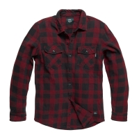 Vintage Industries - Globe heavyweight shirt - Red Check