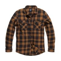 Vintage Industries - Globe heavyweight shirt - Yellow Check