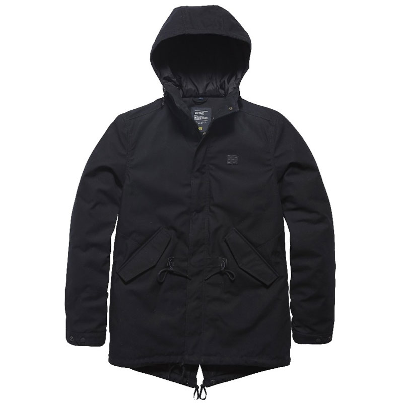 Vintage Industries - Wallbrook parka - Black