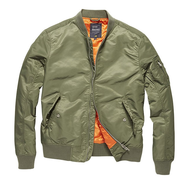 Vintage Industries - Welder jacket - Light Olive
